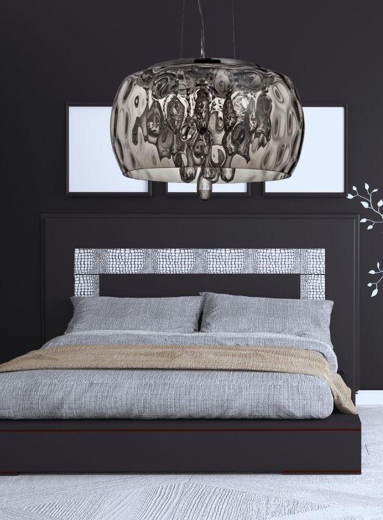 lampadario moderno per camera da letto