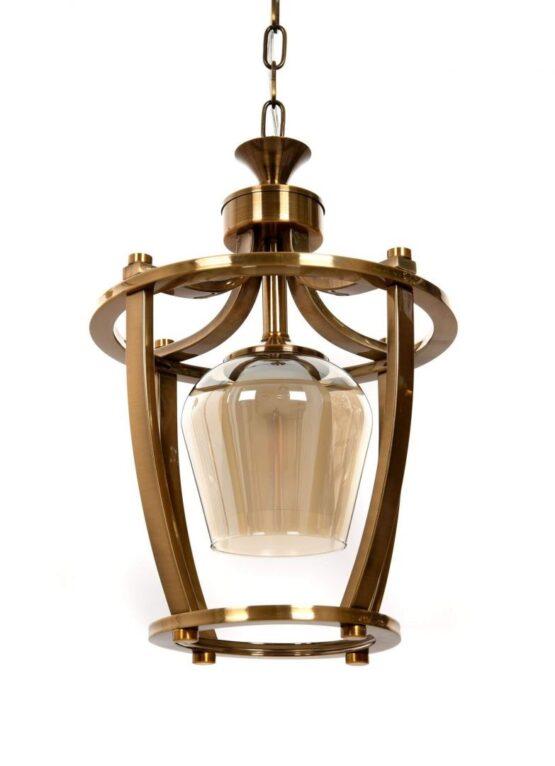 lampadari lussuosi ottone vetro