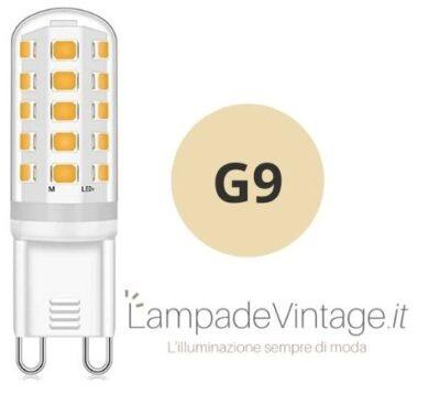 lampadina led con attacco G9