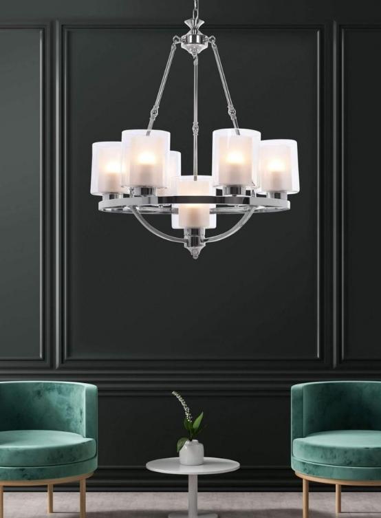 salotto lampadari moderni soggiorno