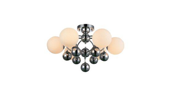 lampada sfera metallo
