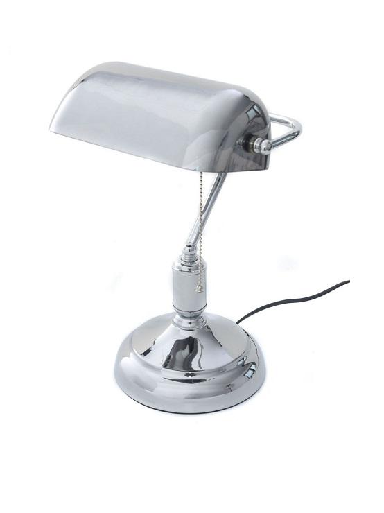 lampada ministeriale argentata