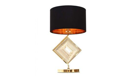 lampada scrivania glamour con base oro