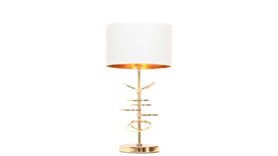 lampade da tavolo di design con struttura ad anelli