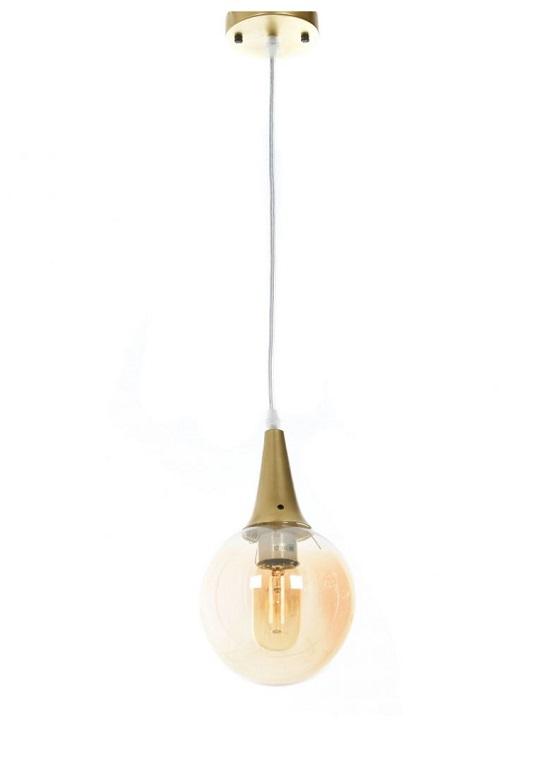 lampada industrial vintage oro