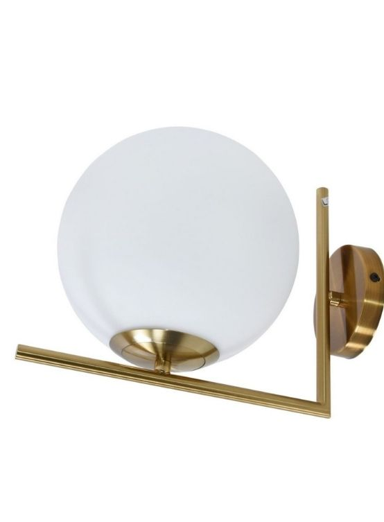Applique bagno design moderno a sfera