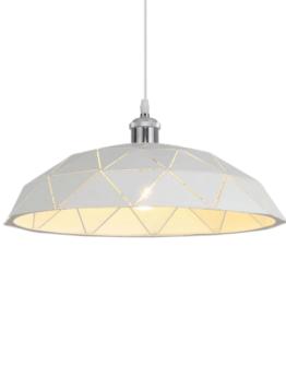 lampada a sospensione bianca