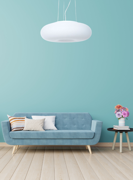 lampada plafoniera salotto bianca