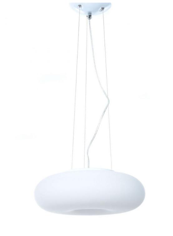 plafoniera soffitto sospesa bianca